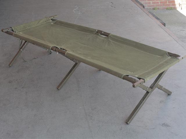 折りたたみ式米軍木製野戦ベッド(コット)