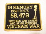 IN MEMORY...VIETNAM WAR 黄